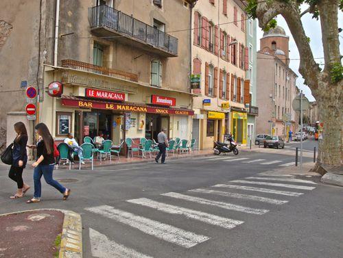 Bédarieux café Maracana style Depardon1