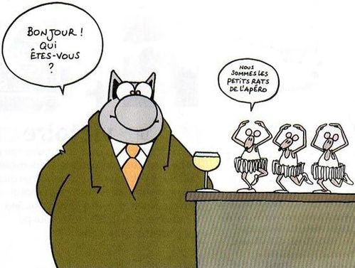 petits rats apero le chat contrepeterie