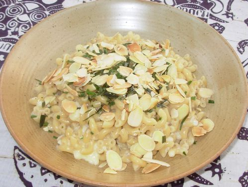 Coquillettes camembert-amandes2