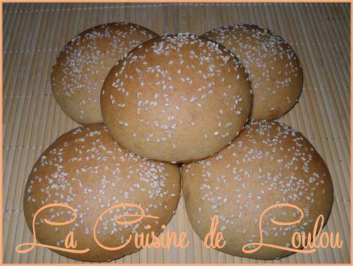 pain à haburger semoule1