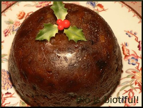 Christmas pudding 4