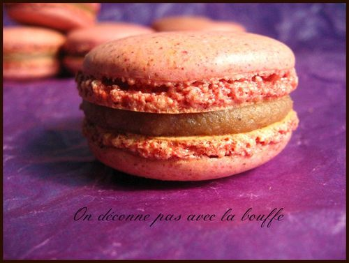 Copy of macarons marron cassis 028
