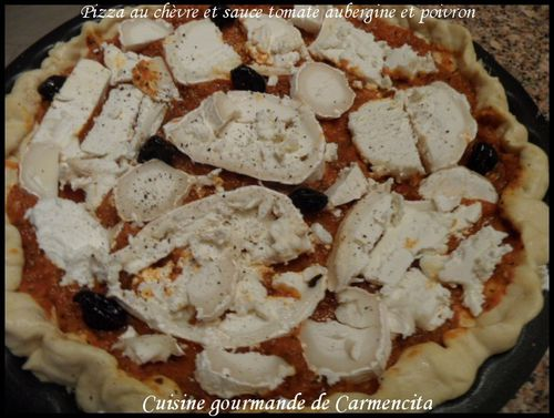 Pizza chèvre.-border