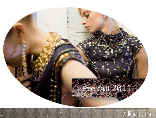 fashion ballyhoo - tendances pre fall 2011 lookbook
