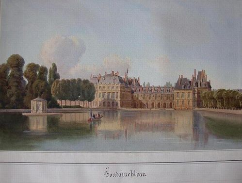 simeon fort fontainebleau musee condé chantilly