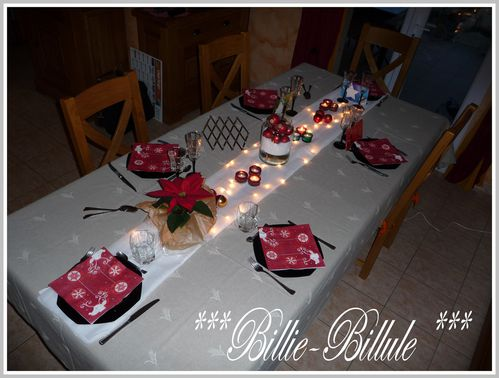 Juste avant de ranger le blog de billie billule - Deco de table jour de l an ...