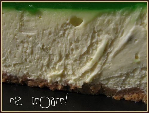 lime cheesecake 012