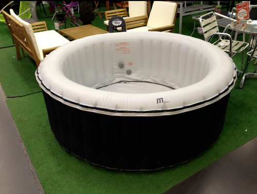 jacuzzi gonflabe interesting extrmement softub spa mobile