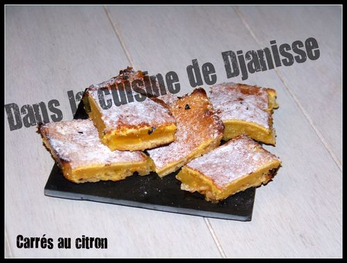 carres au citron