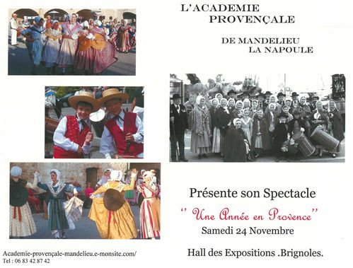 progr spectacle 2012