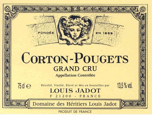 bottle 185 CortonPougetsGrandCru