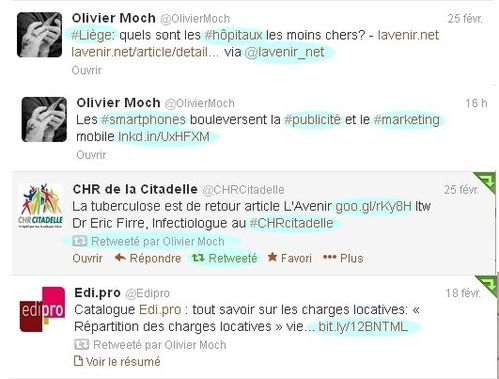 twitter fonctions