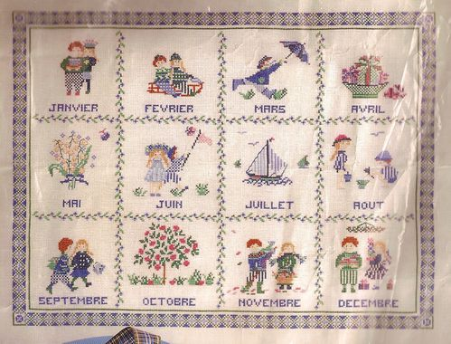 broderie 2010-01 Calendrier