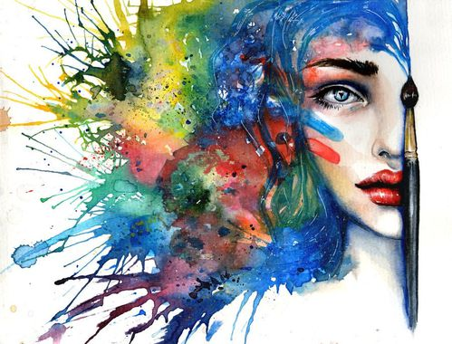 Watercolor by Tanya Shatseva