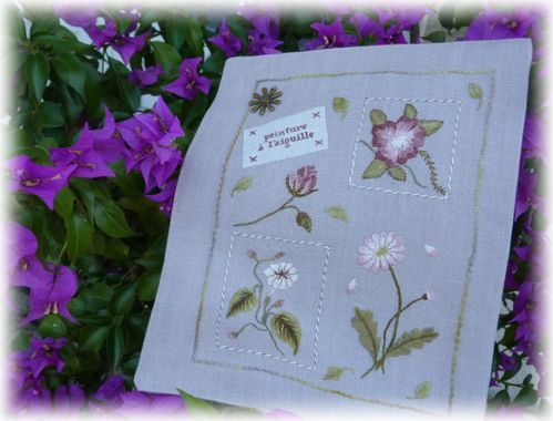 cahier broderie XI b 1