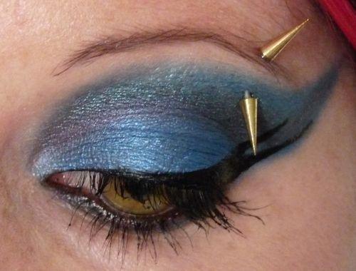 Maquillage Bleu 06