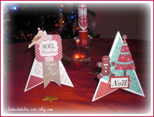 Deco noel le scrap de ch nt l for Porte nom de table noel