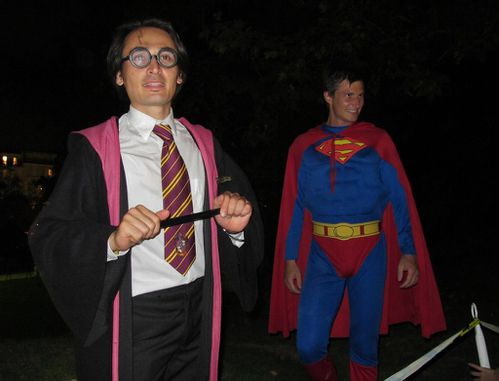 Nuit blanche 11 Hyber Harry Potter Superman