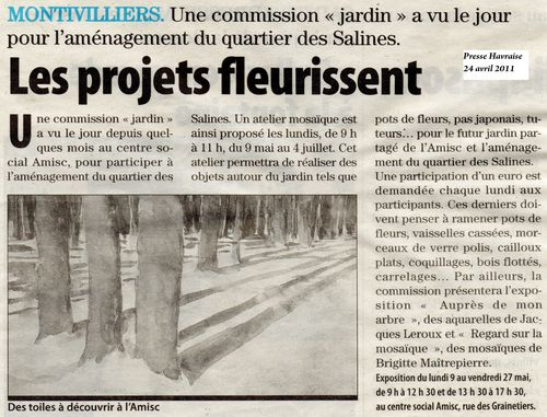 Article Presse Havraise 24 avril 2011