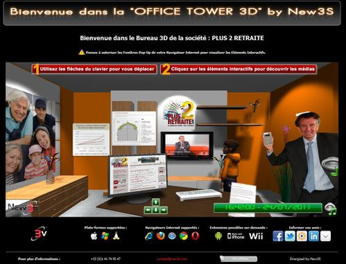 office tower plus2retraite salon 3d 2
