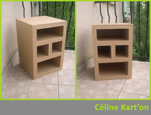 mobiliers en carton c line kart 39 on. Black Bedroom Furniture Sets. Home Design Ideas