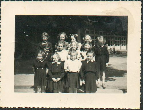 avril 1952 ecole st vincent