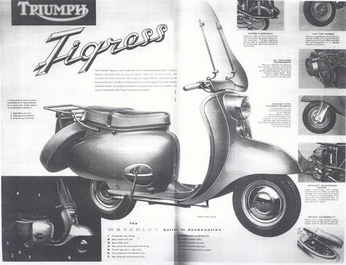 interieur guidon vespa v5a 1965