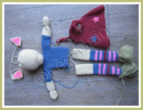 crochet doudou chatte 1