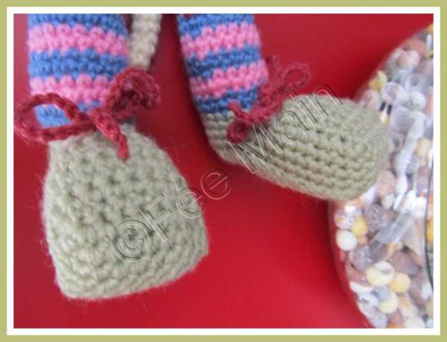 crochet doudou chatte 6