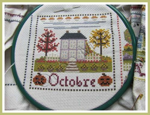 Broderie Maison de Campagne Oct1