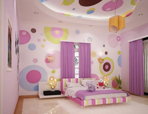 Girls-Bedroom-and-Living-room
