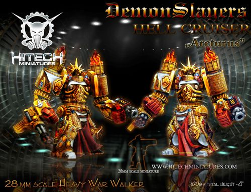 Hell Cruiser Arcturus PAINTED JPG