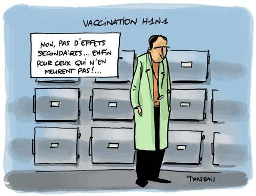 VACCIN H1N1 effets secondaires