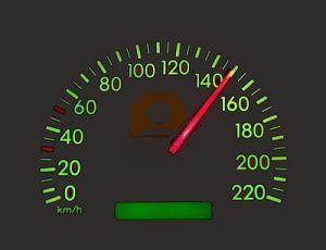 compteur-de-vitesse-a-150 km-h