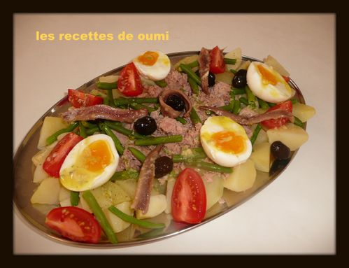 salade de thon et pommes de terre le blog de les recettes de oumi. Black Bedroom Furniture Sets. Home Design Ideas