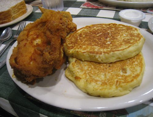 yoders amish poulet-frit amish potato cake