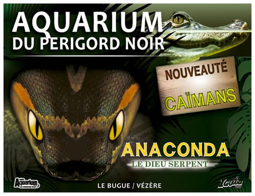 auqarium du périgord noir anaconda