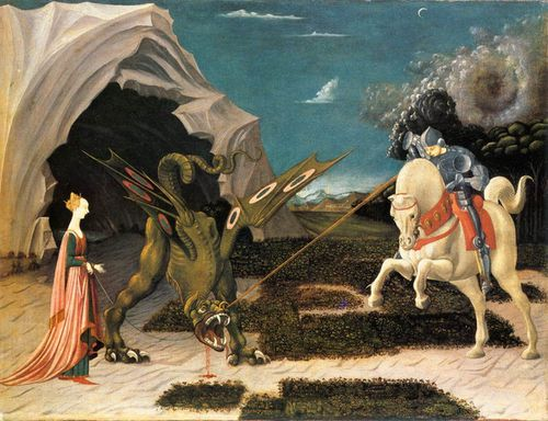 Paolo uccello - saint georges et le dragon 02