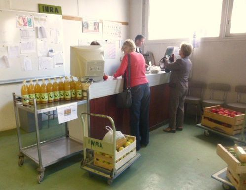 Pommes, Poires, les agents, INRA Angers