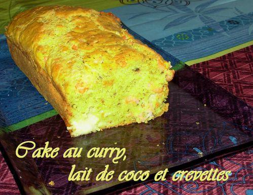 Cake curry, coco, crevettes2