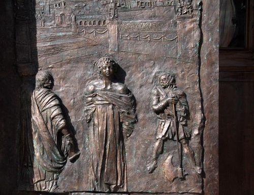 457a1 Palestrina, Sant'Agapito