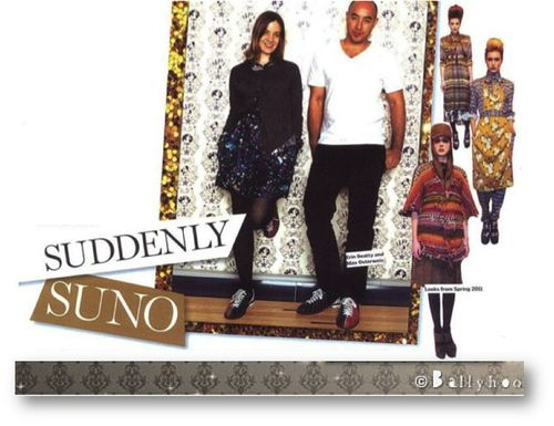 fashion ballyhoo - lookbook fall 2011 Suno