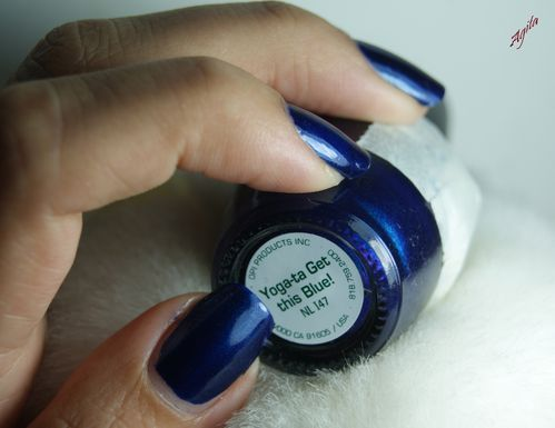 OPI Yoga-ta get this blue 7