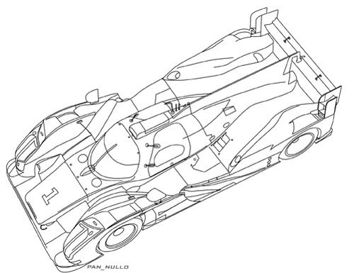 Audi R18 HY Top 2013 LOW