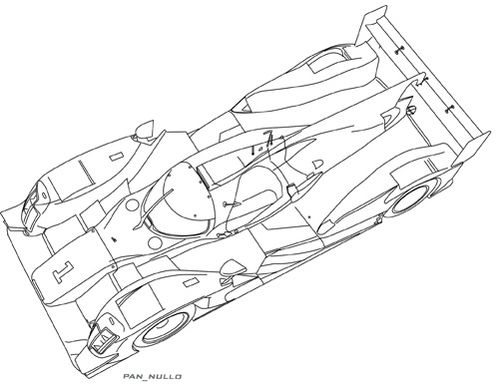 Audi R18 HY Top 2014 LOW