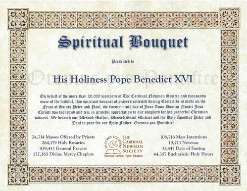 Spiritual Bouquet for Pope3