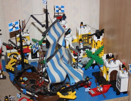 LEGO 6263 Pirates Imperial Outpost 18