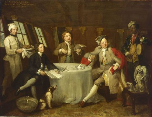 Captain Lord George Graham William Hogarth