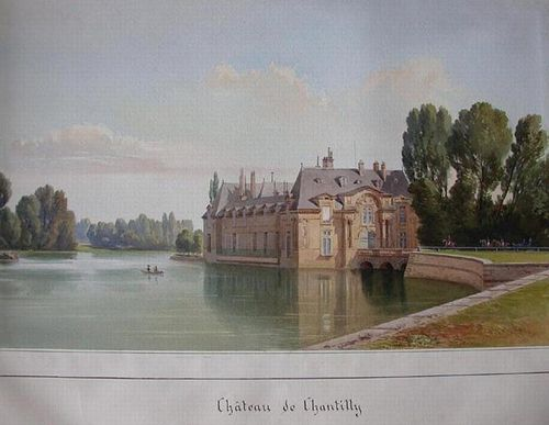 simeon fort chntilly musée condé chantilly