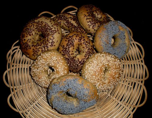 bagels farine complete